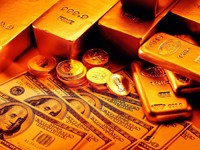 Золото и бумажные доллары