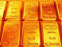 Слитки из чистого золота