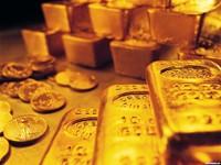 Горы золота в слитках