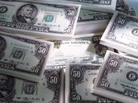 Пачки по 50 долларов США
