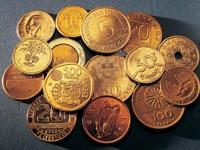 Монеты разного достоинства