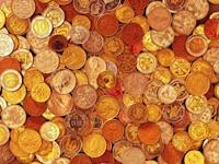 Цветные монетки