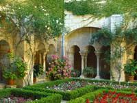 Ландшафтный  сад возле дома