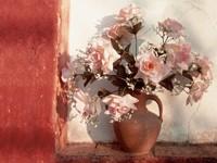 Ваза с розами в нише