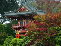 Китайский дом в саду