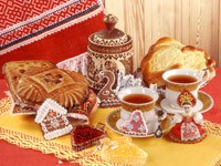 Чай с пряниками