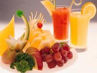 Тропические фрукты и соки из них