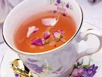 Чай с бутонами чайной розы