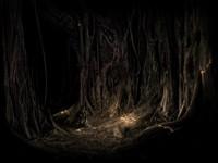 В темном подземелье