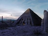 Арт - мрачные пирамиды Египта