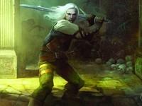 Воин замахивается мечом