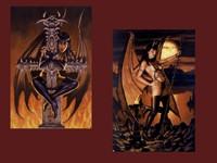 Демонические статуи