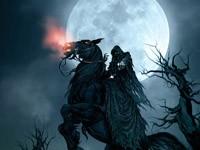 Назгул на чёрном коне