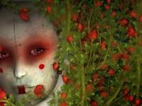 Образ женщины с цветами