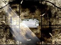 Табличка на плите welcome to heaven