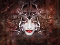 Лицо фэнтезийной женщины