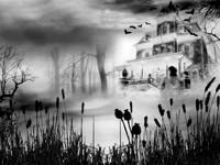 Зловещий дом в тумане