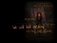 Девочка в цепях,  мы будем убивать снова