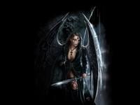 Фэнтезийная женщина с мечом