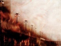 Улица в огне