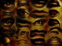 Сюрреализм глаза рот и зубы
