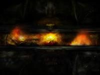 Фантастический мрачный, темный образ