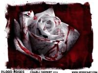 Кровавая белая роза