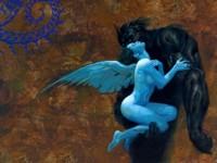 Демон с  ангелом