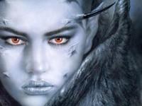 Демонический  образ девушки