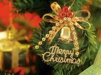 Новогоднее украшение колокольчик