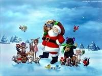 Санта подарил подарки