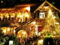 Новогодний терем и гостиница