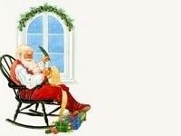 Санта пишет список