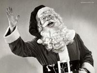 Санта приветствует