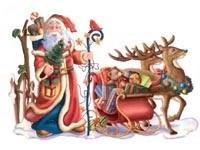 Санта собирается в путь