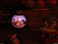 Комната, озаренная свечой