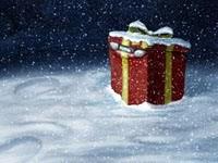 Подарок под снегом