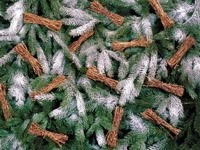 Снопики на елке