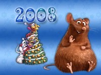 Крысёнок и елка