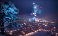 Салют на Новый год