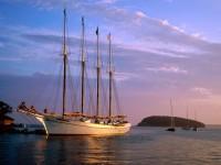 Парусное судно - парусник