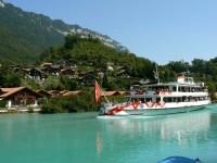 Туристический кораблик в Интерлакене