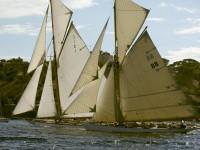 Большие парусные яхты