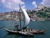 Лодка  в Португалии