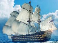 Большой военный парусник «Сантисима-Тринидад»