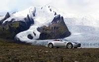 Кабриолет и горы