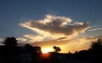 Восход и облако