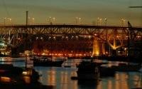 Мост и лодки