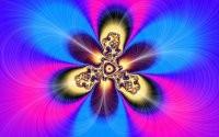 Абстрактный цветок