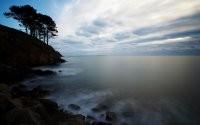 Облака и море